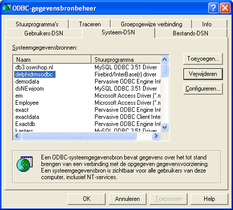 Odbc Connection
